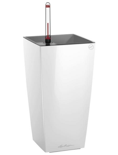 LECHUZA Pflanzgefäß »MAXI«, BxHxT: 14 x 26 x 42,5 cm, weiß hochglanz
