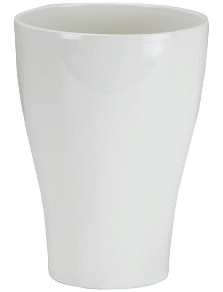 SCHEURICH Pflanzgefäß, ØxH: 16 x 22 cm, creme