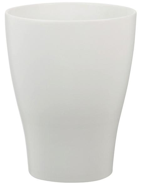 SCHEURICH Pflanzgefäß, ØxH: 16 x 22 cm, weiß