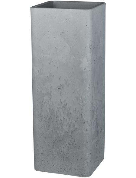 CASAYA Pflanzgefäß »QUADRO HIGH«, BxHxT: 26 x 72,5 x cm, grau