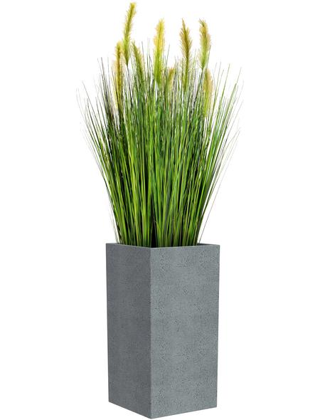 CASAYA Pflanzgefäß »QUADRO HIGH«, BxHxT: 38 x 54 x cm, grau
