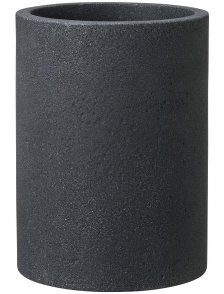 CASAYA Pflanzgefäß »ROMA«, ØxH: 39 x 54 cm, schwarz