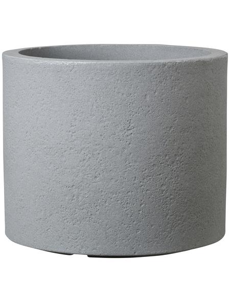 CASAYA Pflanzgefäß »ROMA«, ØxH: 40 x 31 cm, grau