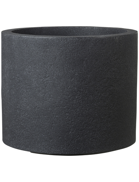 CASAYA Pflanzgefäß »ROMA«, ØxH: 48 x 41 cm, schwarz
