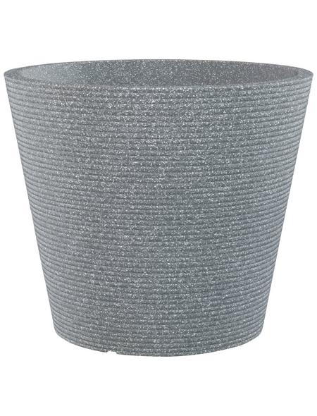 CASAYA Pflanzgefäß »SORRENTO«, ØxH: 47,2 x 39,4 cm, grau