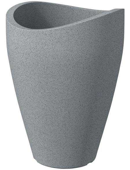 SCHEURICH Pflanzgefäß »WAVE GLOBE HIGH «, ØxH: 40 x 54 cm, grau