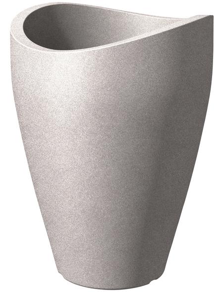 SCHEURICH Pflanzgefäß »WAVE GLOBE HIGH «, ØxH: 50,5 x 67 cm, taupe