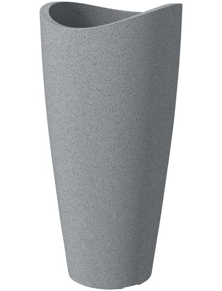SCHEURICH Pflanzgefäß »WAVE GLOBE HIGH SLIM«, ØxH: 39,5 x 80 cm, grau