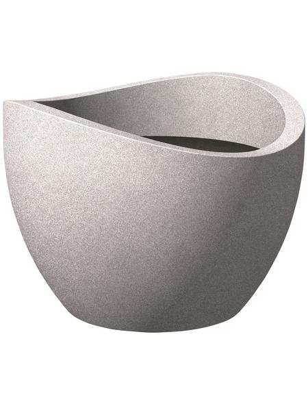 SCHEURICH Pflanzgefäß »WAVE GLOBE«, ØxH: 30 x 22,2 cm, taupe