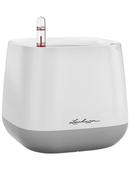 LECHUZA Pflanzgefäß »YULA«, ØxH: 16,7 x 15 cm, weiß