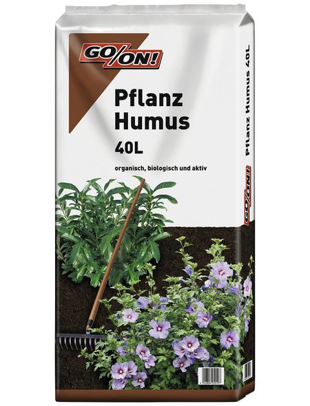 GO/ON! Pflanzhumus, für Alle Pflanzen im Haus- und Kleingarten, torffrei