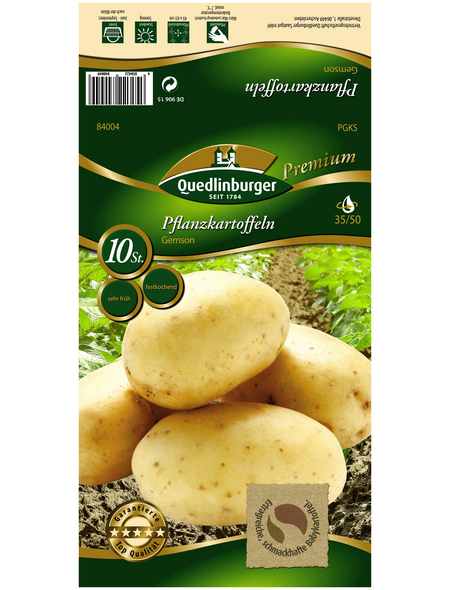 Quedlinburger Pflanzkartoffel, Solanum tuberosum »Gemson «, 10 Stück