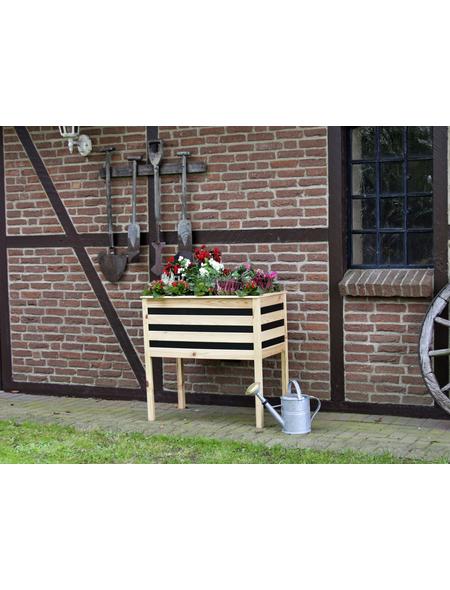 COLOR YOUR OWN Pflanzkasten, Breite: 88 cm, Kiefernholz