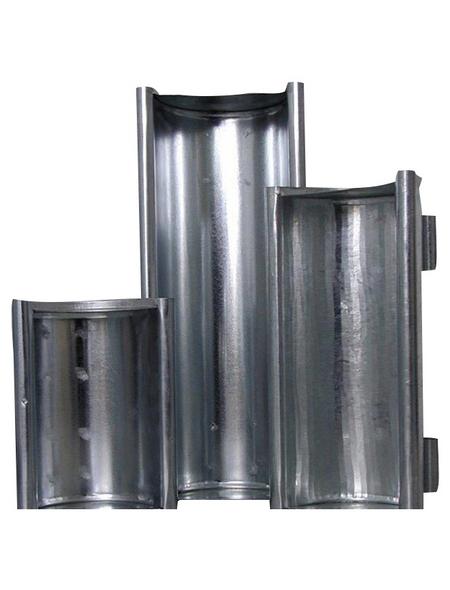 A.H.G. Pflanzrinne, ØxH: x 10 cm, silber-Metallic