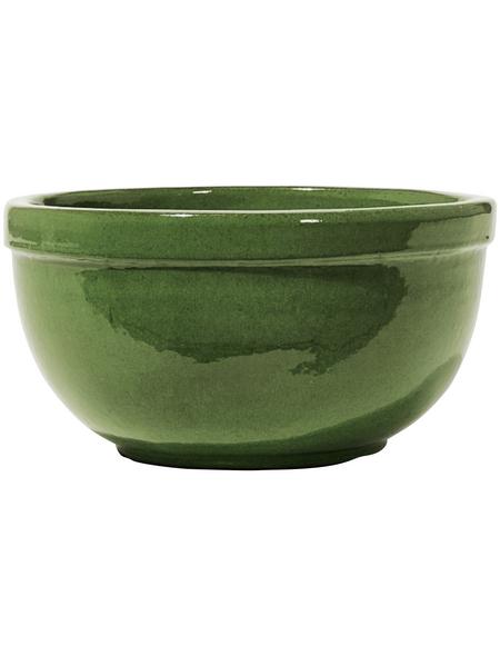 Kirschke Pflanzschale »Löhne« mit 8 l Fassungsvermögen, rund, grün
