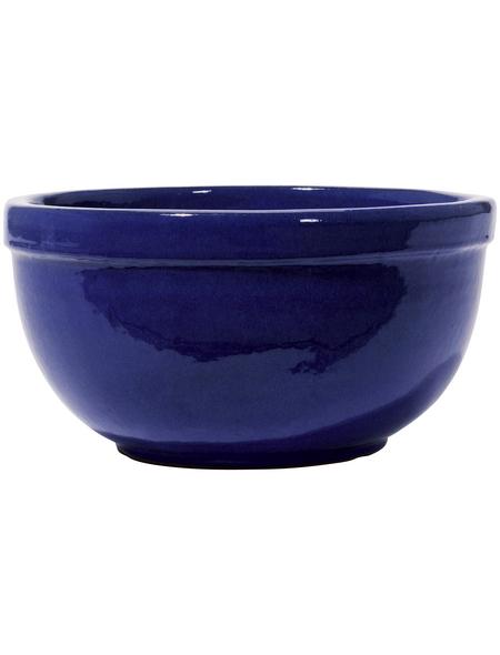 Kirschke Pflanzschale »Löhne«, ØxH: 25 x 14 cm, blau