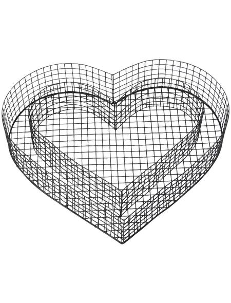 BELLISSA Pflanzschale »Pflanzschale«, 38x32,5x8, Verzinkt