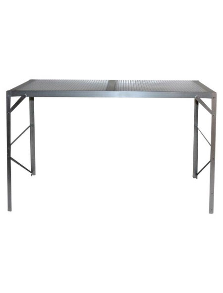 VITAVIA Pflanztisch, BxL: 121 x 121 cm, Aluminium