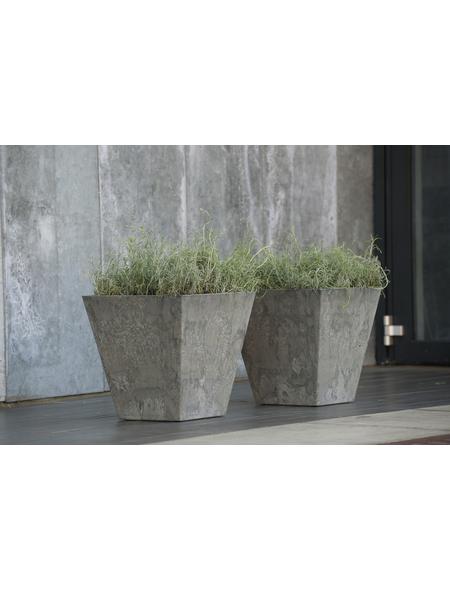 ARTSTONE Pflanztopf »Artstone«, Breite: 15 cm, grau, Kunststoff