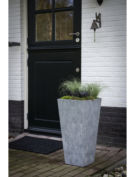 ARTSTONE Pflanztopf »Artstone«, Breite: 35 cm, grau, Kunststoff