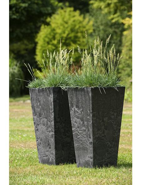 ARTSTONE Pflanztopf »Artstone«, Breite: 35 cm, schwarz, Kunststoff