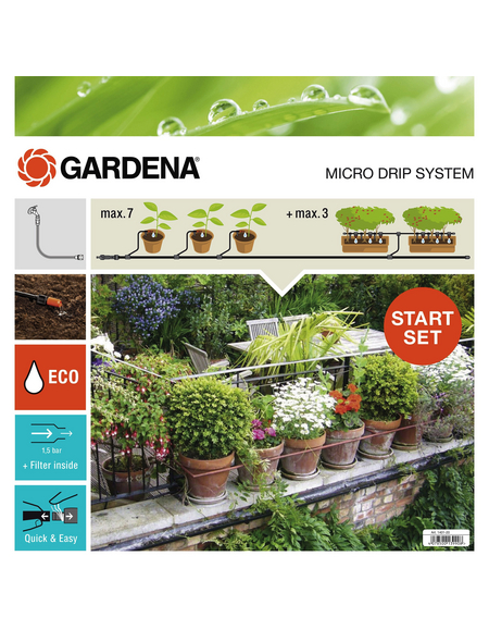 GARDENA Pflanztopf »Micro-Drip-System«, Kunststoff