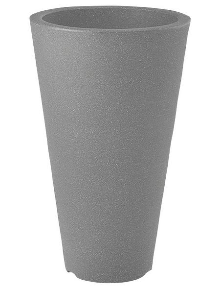 Pflanzvase »Capri«, ØxH: 24 x 35 cm, anthrazit
