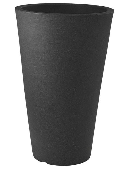 Pflanzvase »Capri«, ØxH: 28 x 45 cm, anthrazit