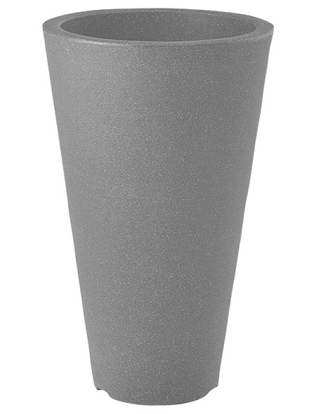 Pflanzvase »Capri«, ØxH: 28 x 45 cm, steingrau