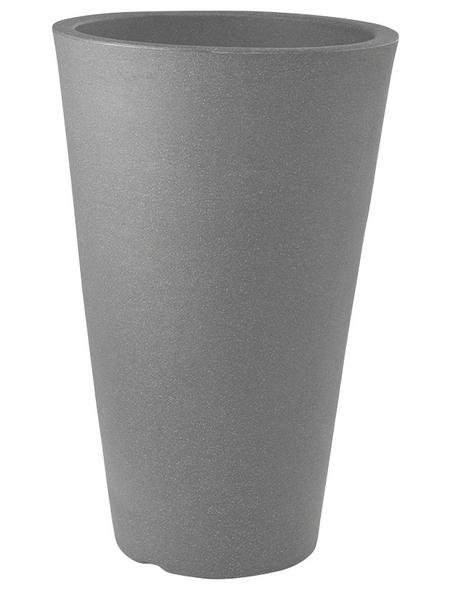 Pflanzvase »Capri«, ØxH: 35 x 55 cm, steingrau