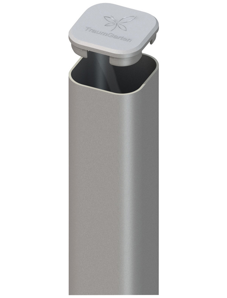 TraumGarten Pfosten, Metall, BxLxT: 7 x 105 x 7 cm