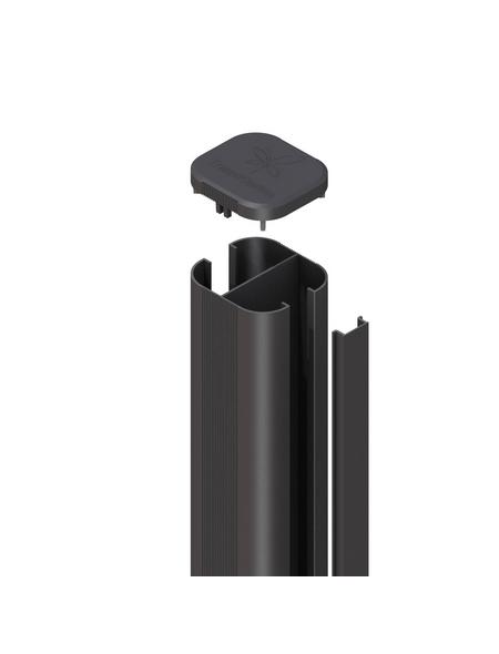TraumGarten Pfosten, Metall, BxLxT: 7 x 192,5 x 7 cm