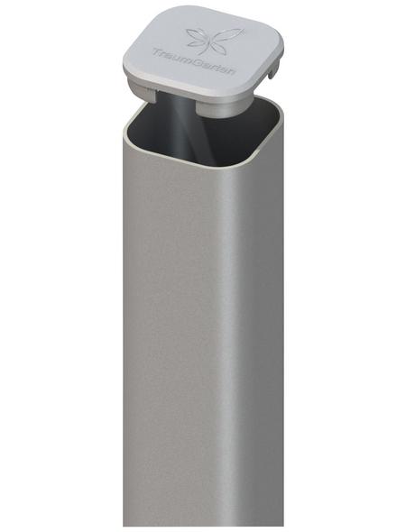 TraumGarten Pfosten, Metall, BxLxT: 7 x 240 x 7 cm
