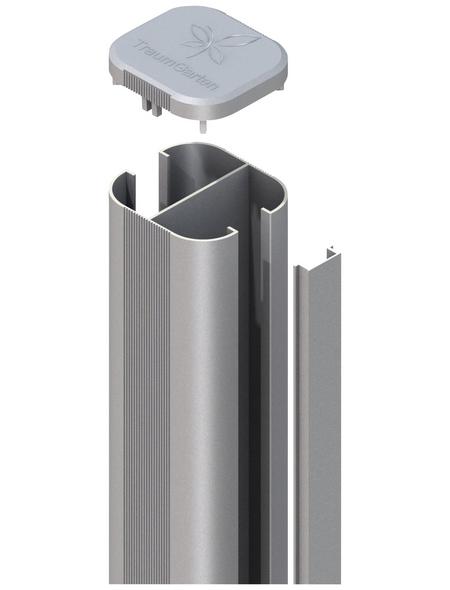 TraumGarten Pfosten »System «, Metall, BxLxT: 7,2 x 150 x 6,6 cm