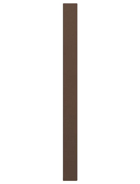 TraumGarten Pfosten »WPC «, WPC, BxLxT: 8,4 x 100 x 8,4 cm