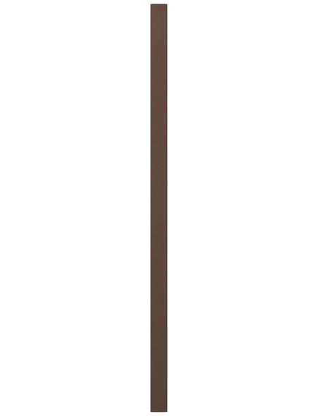 TraumGarten Pfosten »WPC «, WPC, BxLxT: 8,4 x 200 x 8,4 cm