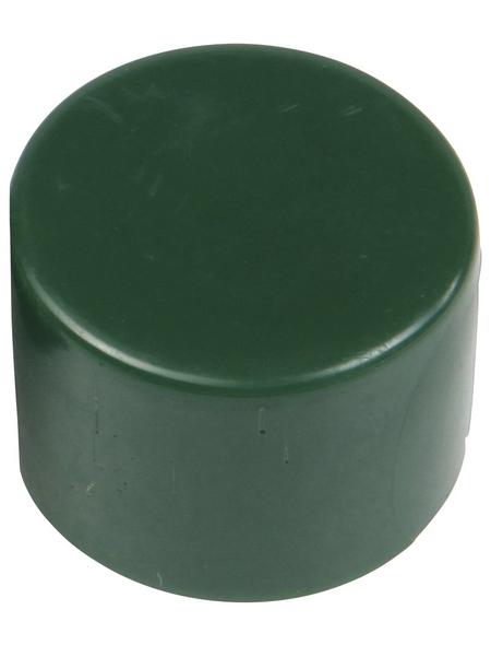 FLORAWORLD Pfostenkappe, BxHxT: 3 x 2 x 3 cm, grün, für Pfostenabdeckung
