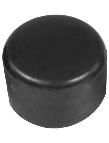 FLORAWORLD Pfostenkappe, BxHxT: 4 x 2 x 4 cm, anthrazit, für Pfostenabdeckung