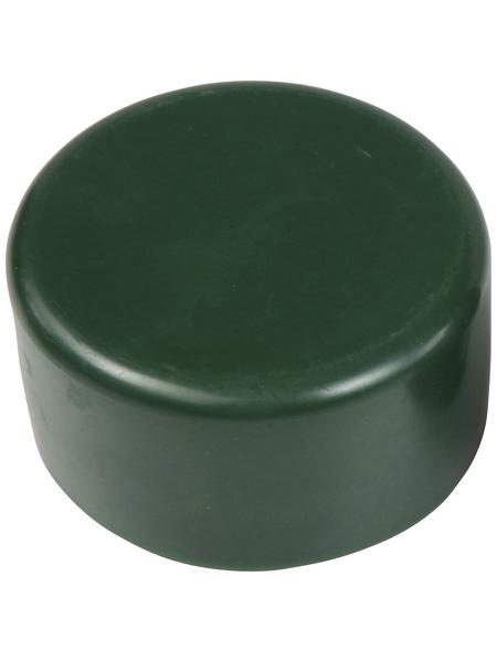 FLORAWORLD Pfostenkappe, BxHxT: 6 x 2 x 6 cm, grün, für Pfostenabdeckung