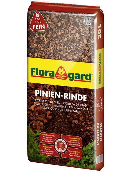 FLORAGARD Pinienrinde, 20 l, braun