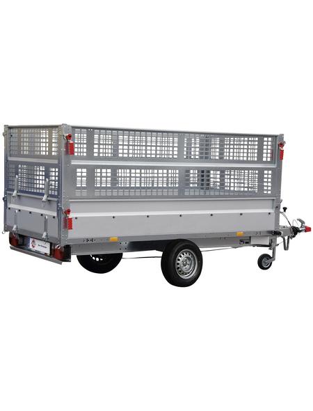 STEMA PKW-Anhänger »BASIC SH 1300«, BxLxH: 128 cm x 251 cm x 33 cm, max. Nutzlast 905 kg