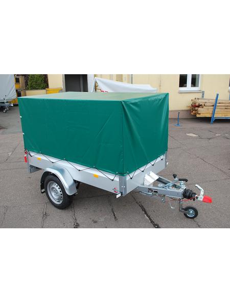 STEMA PKW-Anhänger mit Plane »BASIC 850 COC«,  BxLxH: 108 cm x 201 cm x 33 cm, max. Nutzlast 652 kg