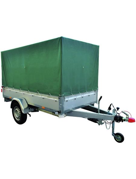 STEMA PKW-Anhänger mit Plane »BASIC ST 1000 O2 10-25-13.1«, 128x251x34,5 cm, Nutzlast 674 kg