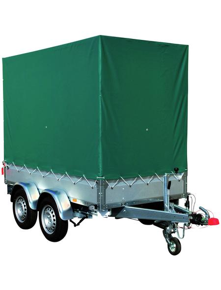 STEMA PKW-Anhänger mit Plane »BASIC ST 2000 O2 20-30-15.2«, 153x301x34,5 cm, max. Nutzlast 1488 kg