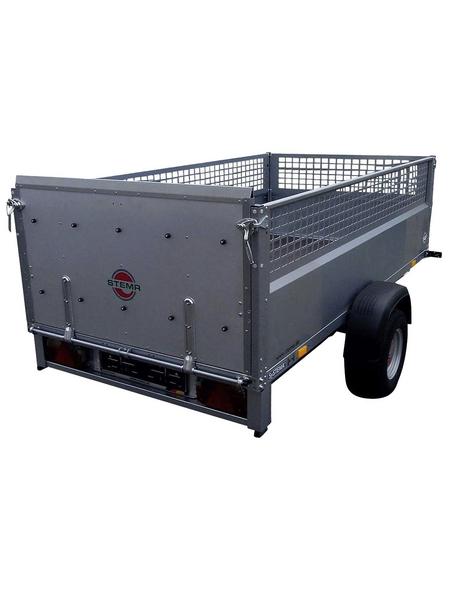 STEMA PKW-Anhänger »REX21«, BxL: 128x210 cm, max. Nutzlast 525 kg