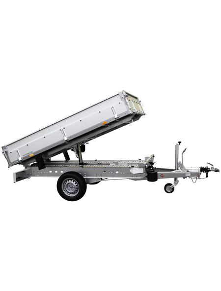 STEMA PKW-Anhänger »SHRK 1500«,  BxLxH: 153 cm x 251 cm x 34,5 cm, max. Nutzlast 1020 kg