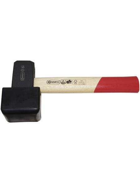 CONNEX Plattenverlegehammer, Holz/Gummi