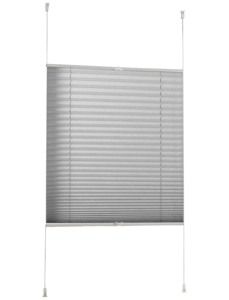 CASAYA Plissee zum Klemmen verspannt, 60x130 cm