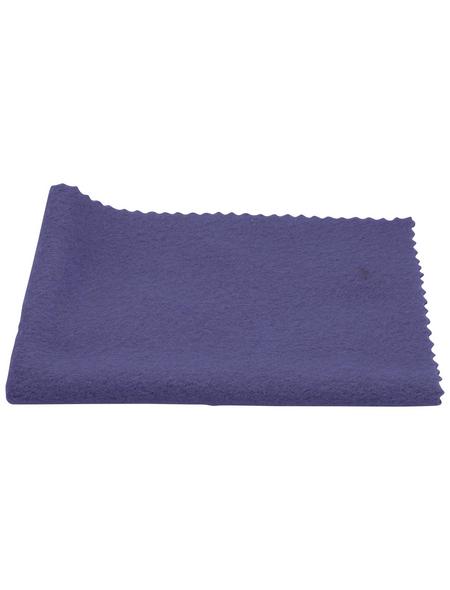 NIGRIN Poliertuch, blau