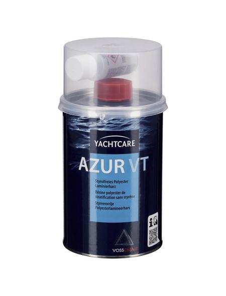 yachtcare® Polyesterharz, Lösemittelbasis, transparent/blau, matt